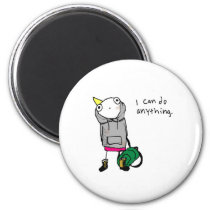 I can do anything. magnet