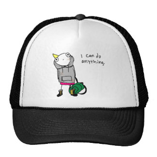 I can do anything. trucker hat