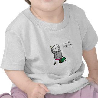 I can do anything. tee shirt