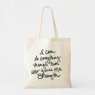I can do everything - Inspirational Tote Bag