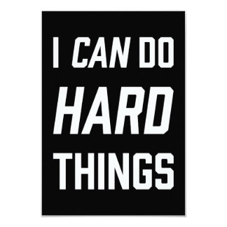 I can do hard things card