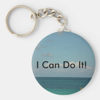 I Can Do It! Keychain