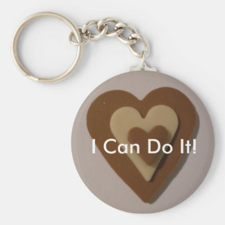 I Can Do It Keychains