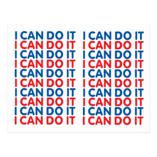 I Can Do It Postcard