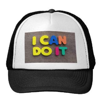 i can do it trucker hat