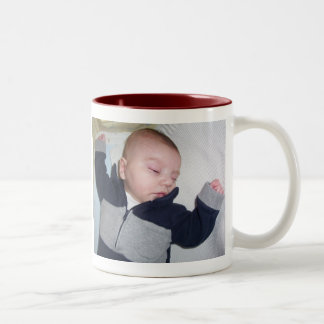 "I Can Do ""Sooooo B I G""In My Sleep Two-Tone Coffee Mug"