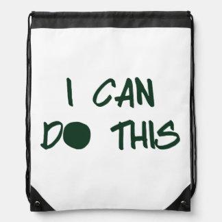 I Can Do This Drawstring Bag