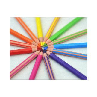 I can draw a rainbow canvas print