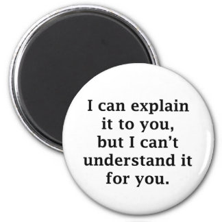 I Can Explain It To You Magnet