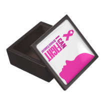 I can fight breast cancer- support women jewelry box