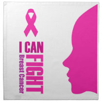 I can fight breast cancer- support women napkin