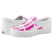 I can fight breast cancer- support women Slip-On sneakers