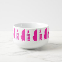 I can fight breast cancer- support women soup mug