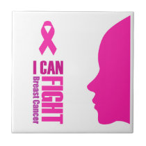 I can fight breast cancer- support women tile