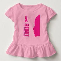 I can fight breast cancer- support women toddler t-shirt