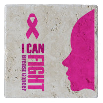I can fight breast cancer- support women trivet