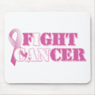 I can fight cancer (pink) mouse pad