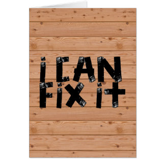 I can Fix it Card