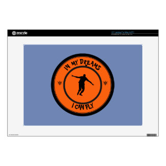 I CAN FLY LAPTOP DECALS