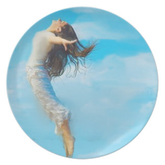 I can fly melamine plate