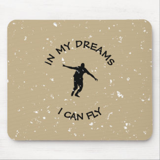 I CAN FLY MOUSE PAD