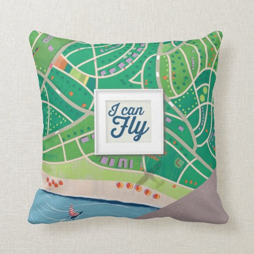 i can fly pillow