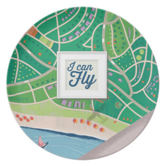 i can fly plate