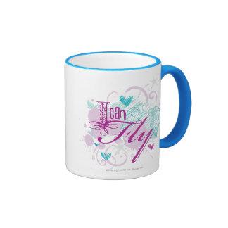 I Can Fly Ringer Mug