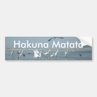 I can flying Customize Product Bumper Sticker