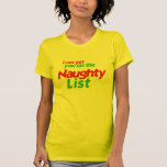 I CAN GET YOU ON THE NAUGHTY LIST SHIRTS
