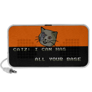 I Can Has All Your Base? Notebook Speaker