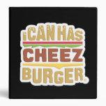 I Can Has Cheezburger (shadow) 3 Ring Binder
