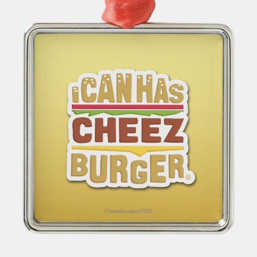 I Can Has Cheezburger (shadow) Christmas Ornament