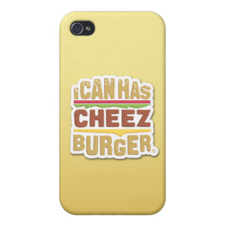 I Can Has Cheezburger (shadow) Cover For iPhone 4
