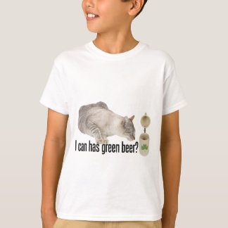 I Can Has Green Beer? T-Shirt