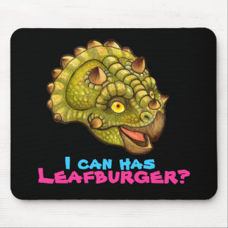 I can has Leafburger? Mouse Pad