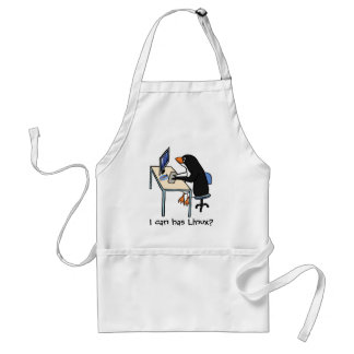 I can has Linux? Adult Apron