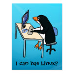 I can has Linux? Postcard