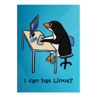 I can has Linux? Poster