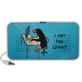 I can has Linux? iPhone Speakers