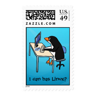 I can has Linux? Stamps