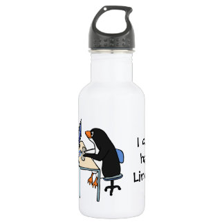 I can has Linux? Water Bottle