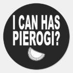 I CAN HAS PIEROGI STICKER