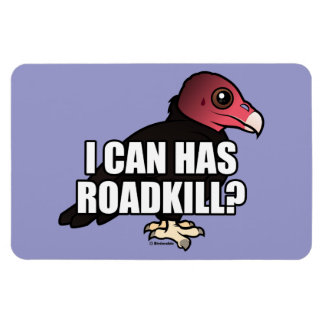 I Can Has Roadkill? Rectangular Photo Magnet