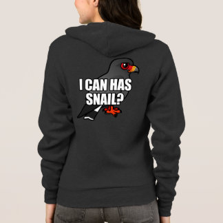 I Can Has Snail? Hoodie