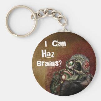 I can haz brains? keychain