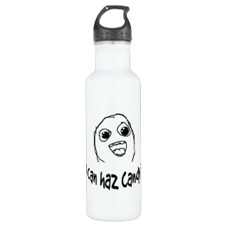 I can haz candy? 24oz water bottle