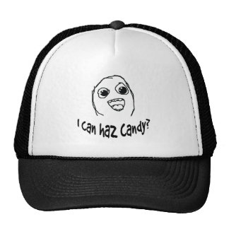 I can haz candy? trucker hat