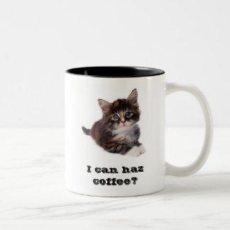 I can haz coffee? Mug