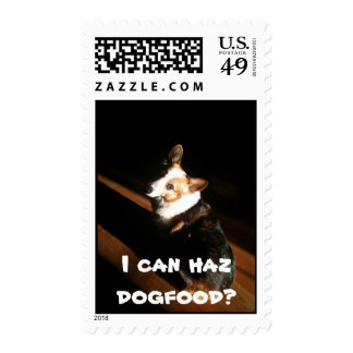 I can haz dogfood? stamps